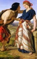 Jacob&Rachel - painting by William Dyce